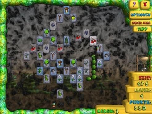 Pausenspiel Mahjong