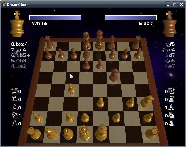 Screenshot 1 - DreamChess
