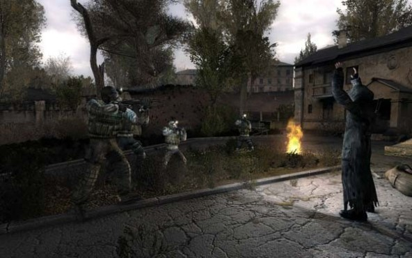 Actionspiel S.T.A.L.K.E.R. – Clear Sky: Gruppe