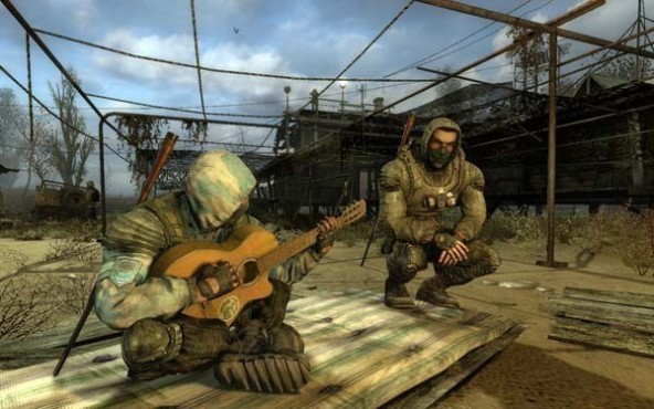 Actionspiel S.T.A.L.K.E.R. – Clear Sky: Lagerfeuer