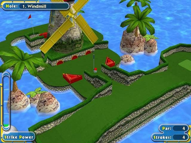 Screenshot 1 - Mini Golf Pro