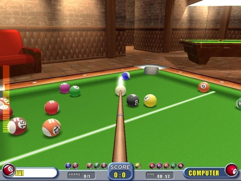 Screenshot 1 - Real Pool