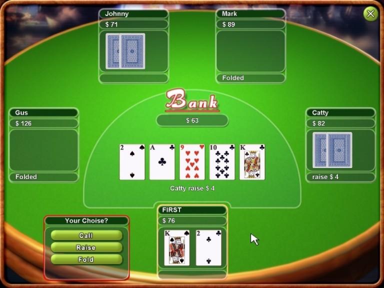 Screenshot 1 - Real Texas Hold them Poker