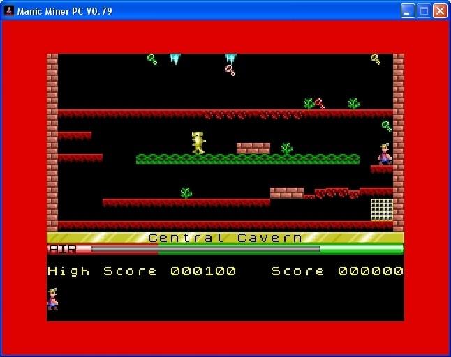 Screenshot 1 - Manic Miner