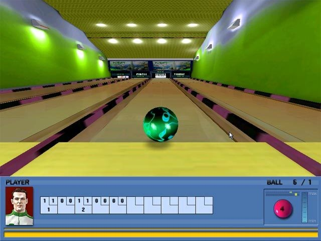 Screenshot 1 - Bowling Masters