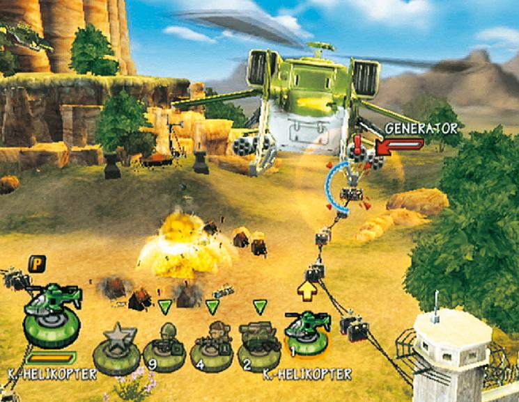 Battalion Wars 2 Test/Review Actionspiel für Wii - COMPUTER BILD SPIELE