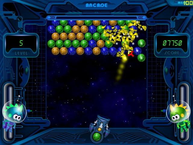 Screenshot 1 - Space Bubbles