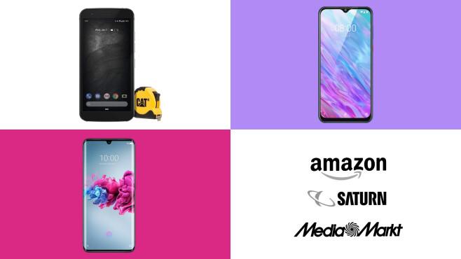 Amazon, Media Markt, Saturn: Die Top-Deals des Tages!©Media Markt, Saturn, Amazon, Caterpillar, ZTE