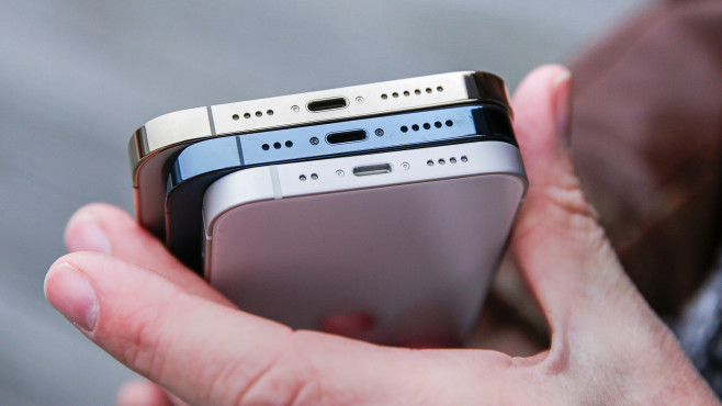 Alurahmen des Apple iPhone 12 mini©COMPUTER BILD