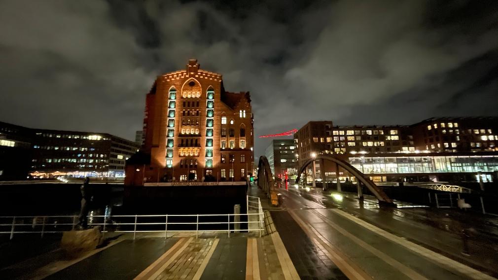 iPhone 12 mini Aufnahme bei Nacht