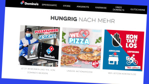 Domino's: Online-Rabatt beim Pizza-Lieferservice©Screenshot www.dominos.de