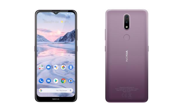 Nokia 2.4 von vorn und hinten©HMD Global