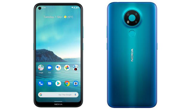 Nokia 3.4 von vorn und hinten©HMD Global