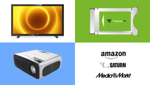 Amazon, Media Markt, Saturn: Die Top-Deals des Tages! © Media Markt, Saturn, Amazon, Philips, Freenet