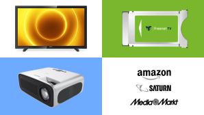Amazon, Media Markt, Saturn: Die Top-Deals des Tages!©Media Markt, Saturn, Amazon, Philips, Freenet