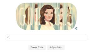 Google Doodle für Romy Schneider©Google