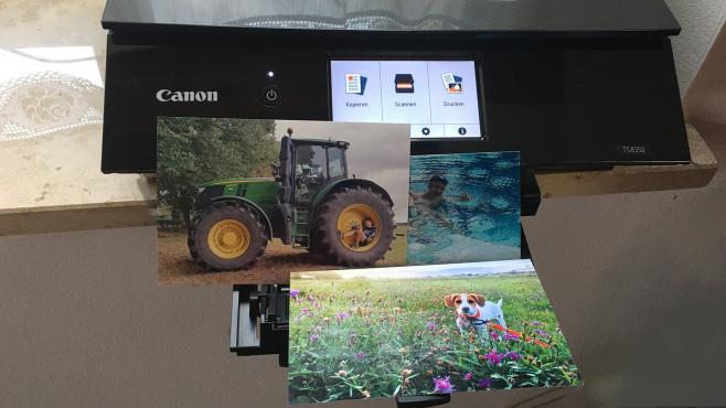 Canon Pixma TS8350: Test©COMPUTER BILD, I. Leschke