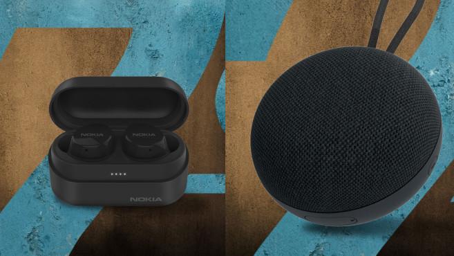Nokia: Kopfhörer und Lautsprecher©HMD Global