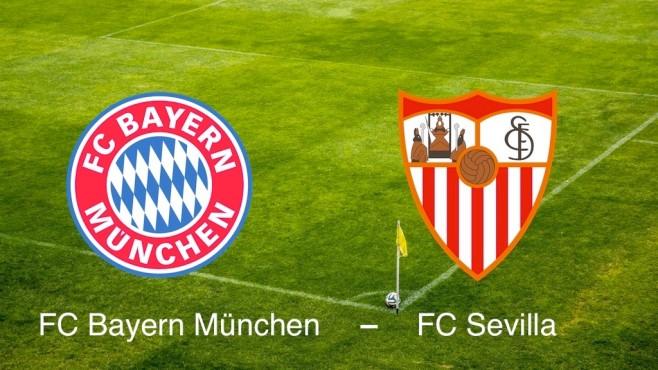 UEFA-Supercup: FC Bayern München vs. FC Sevilla©FC Bayern München; FC Sevilla