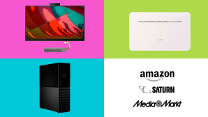 Amazon, Media Markt, Saturn: Die Top-Deals des Tages! © Media Markt, Saturn, Amazon, Huawei, Lenovo, Western Digital