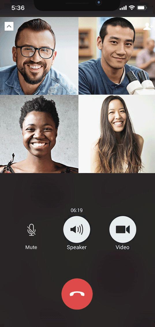 Screenshot 1 - WeChat (App für iPhone & iPad)