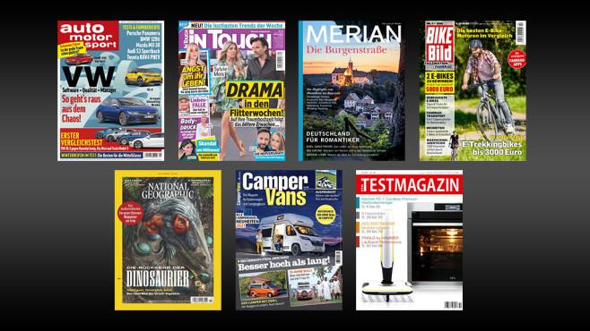 Die 10 Lieblings-Zeitschriften der Deutschen Das sind die anderen Titel, die es in die Top 10 geschafft haben©Readly