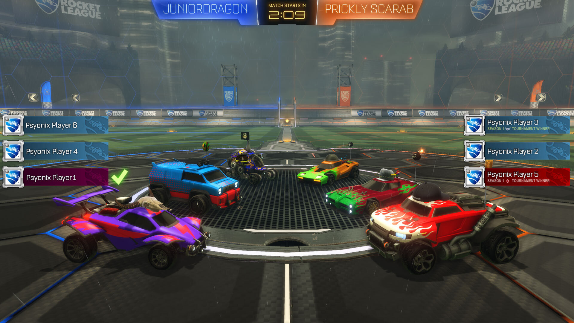 Screenshot 1 - Rocket League