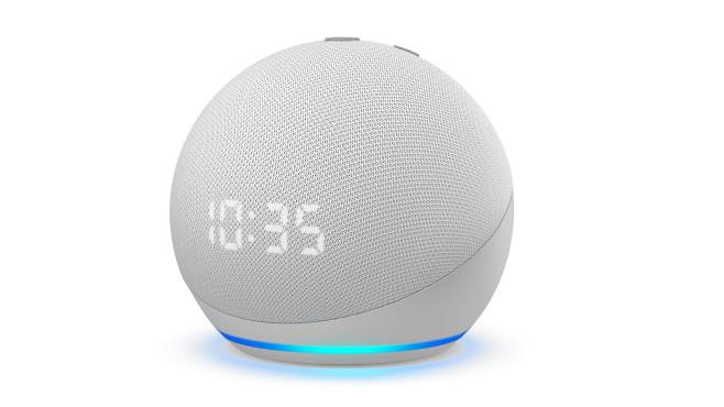 Amazon Echo Dot mit Uhr©Amazon