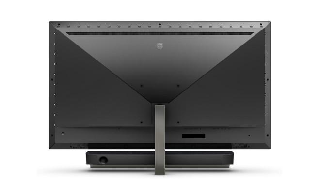 Der Philips Momentum 558M1 wirkt gut verarbeitet, der Bildschirm ist auf seinem Standfuß neigbar.©Philips