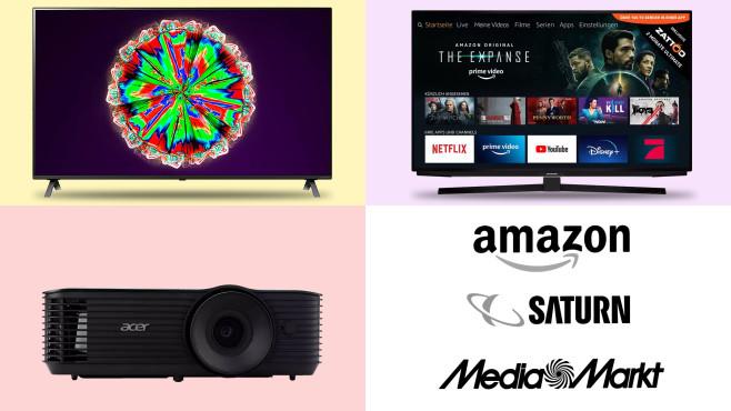 Amazon, Media Markt, Saturn: Die Top-Deals des Tages!©Amazon, Saturn, Media Markt, Grundig, LG, Acer