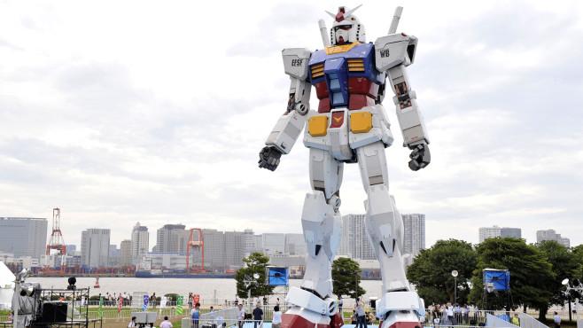 Der Gundam-Roboter©- / Getty Images