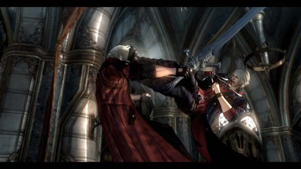 Actionspiel – Devil may cry 4: Kampf