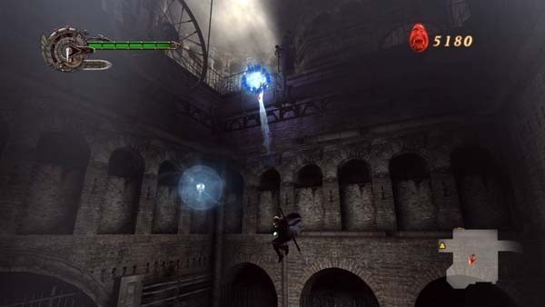 Actionspiel – Devil may cry 4: Sprung-Passagen
