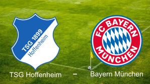 TSG Hoffenheim gegen FC Bayern München©TSG Hoffenheim, FC Bayern München
