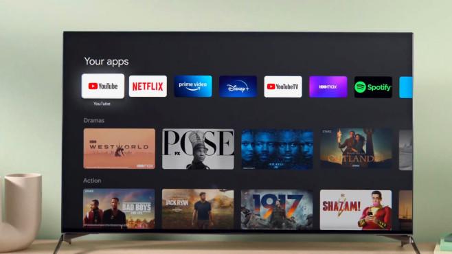 Auf dem neuen Chromecast wird Google TV Premiere feiern.©Google