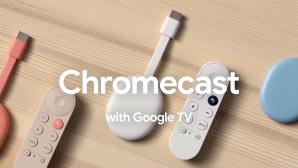 Zum neuen Chromecast mit Google TV geh�rt eine handliche Fernbedienung.©Google