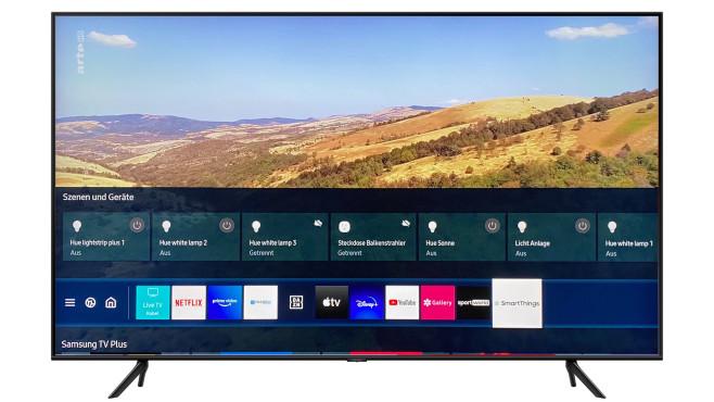 Via SmartThings App auf dem Q60T gehorchen sogar vernetzte Lampen der Samsung-Fernbedienung.©Samsung, COMPUTER BILD