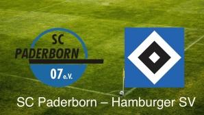 2. Liga: SC Paderborn vs. Hamburger SV©SC Paderborn; Hamburger SV