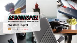 Gewinnspiel: Räumen Sie Preise im Wert von über 1.700 Euro ab! Die große COMPUTER BILD SSD-Woche 2020©WD