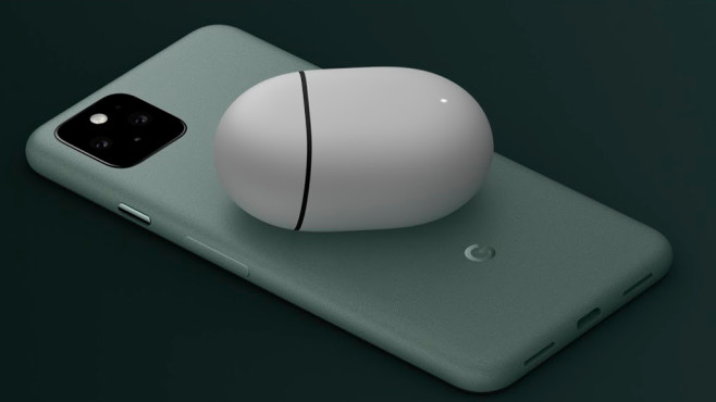 Google Pixel 5 lädt kabellos©Google