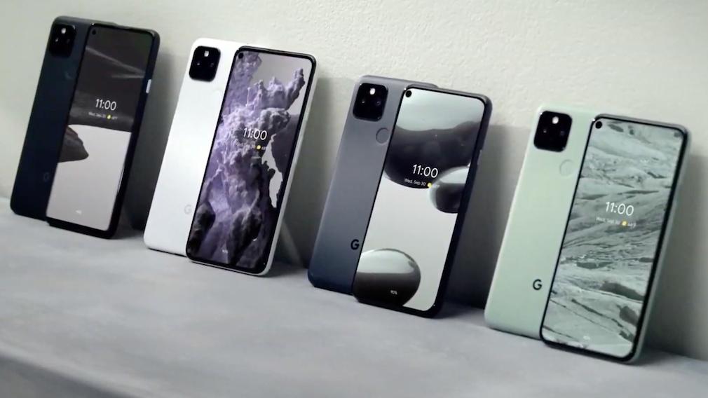 Google Pixel 5 und Google Pixel 4a 5G