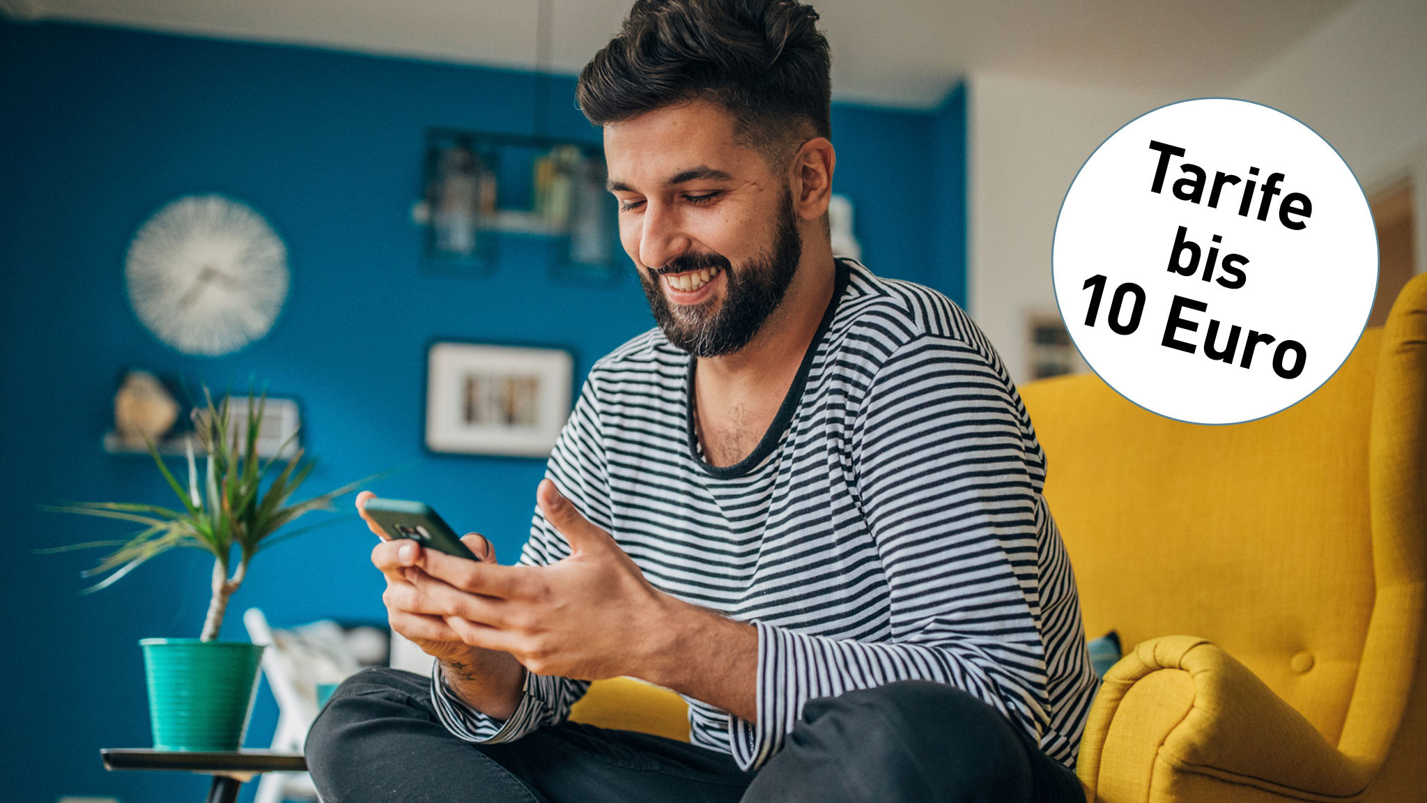 Handyvertrag bis 10 Euro: Telefonieren, simsen, surfen für kleines Geld