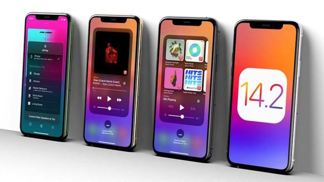 iOS 14.2 auf mehreren iPhones©EverythingApplePro auf Twitter