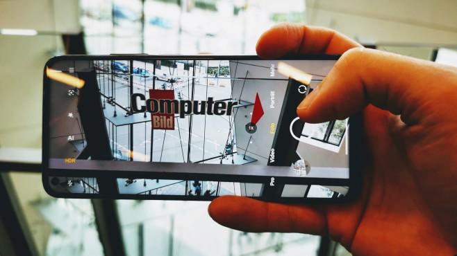 Xiaomi Mi 10T Pro Foto©COMPUTER BILD / MIchael Huch