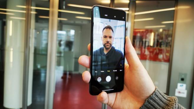 Xiaomi Mi 10T Pro Selfie©COMPUTER BILD / MIchael Huch