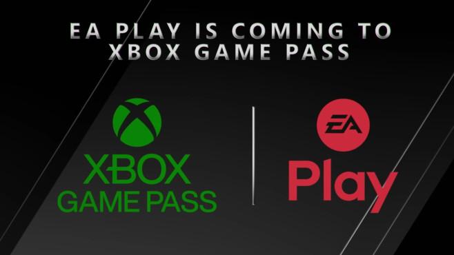 Xbox-Game-Pass- und EA-Play-Logos©Microsoft