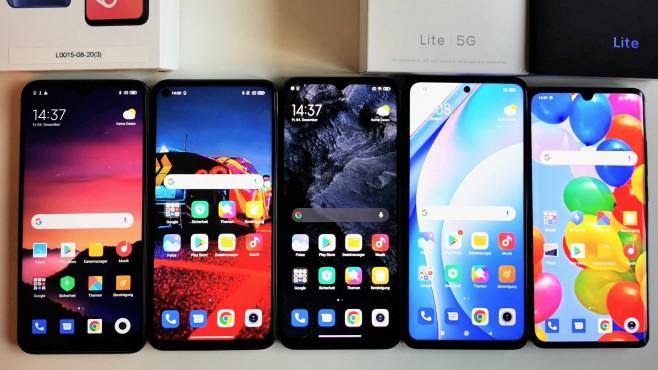 Xiaomi-Vergleich©COMPUTER BILD / Michael Huch