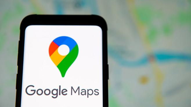 Das Karten-Tool Google Maps©SOPA Images / Getty images