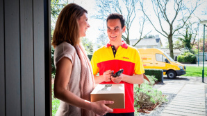 DHL-Paketbote © Deutsche Post