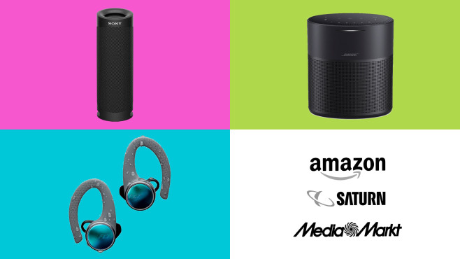 Amazon, Media Markt, Saturn: Top-Deals des Tages!©Amazon, Media Markt, Saturn, Bose, Sony, Plantronics